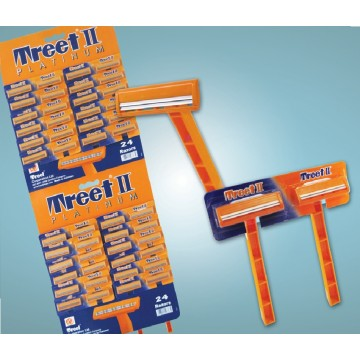 Treet II  Platinum (48 razors on a card) Image 1